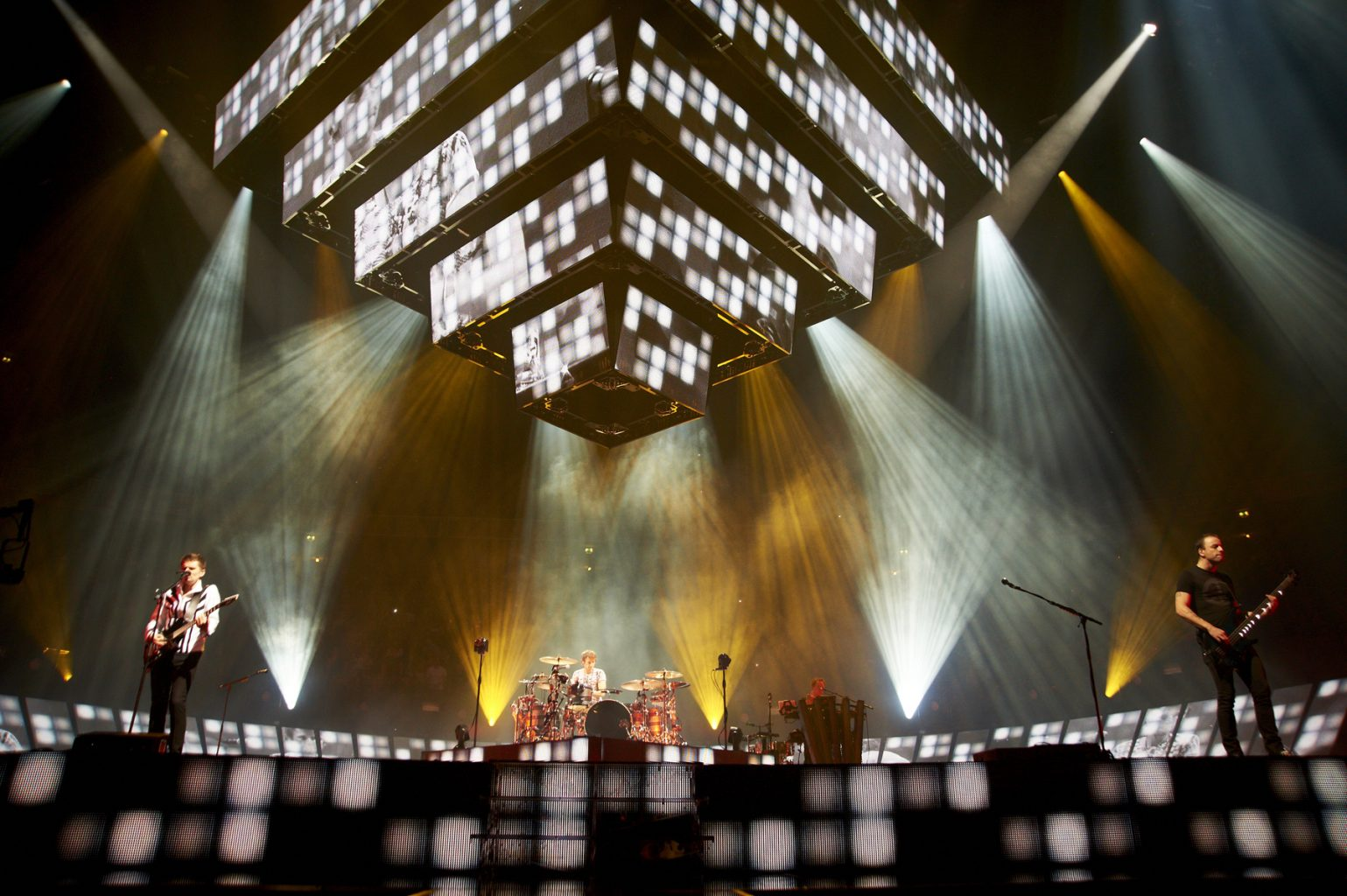 Muse, live at Manchester.