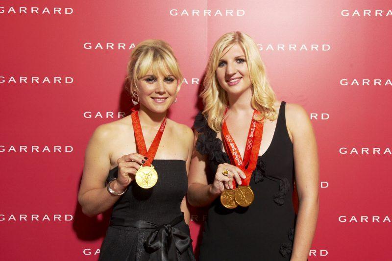 Olympiuc Gold medalist Rebecca Adlington.
