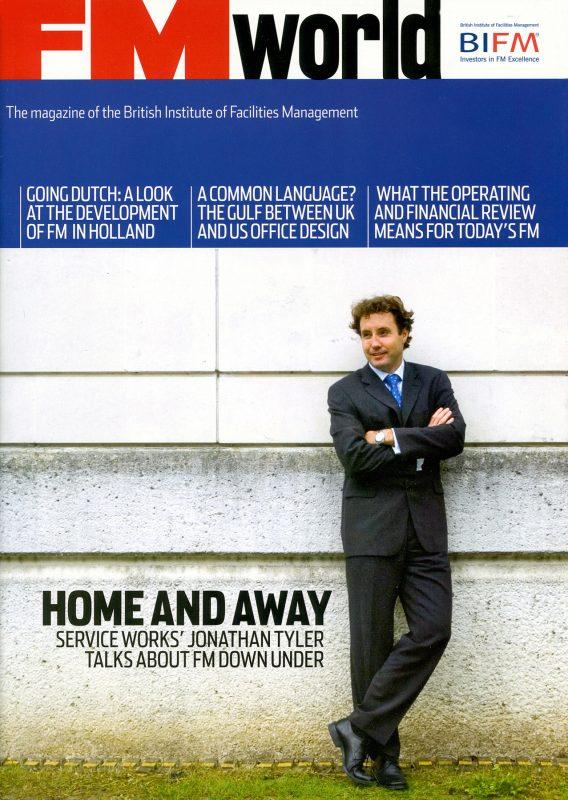 Jonathan Tyler cover shoot for FM World