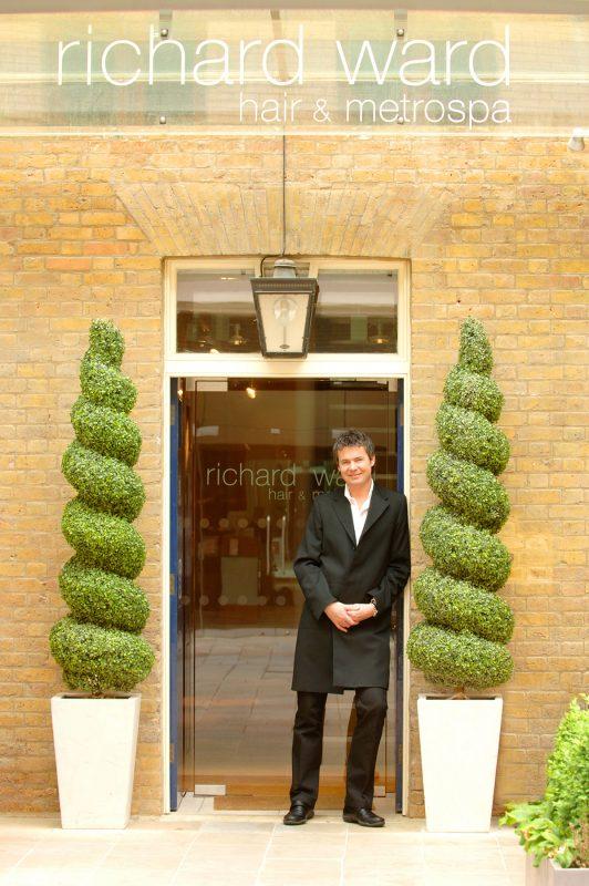 Celebrity hairdresser, Richard Ward.