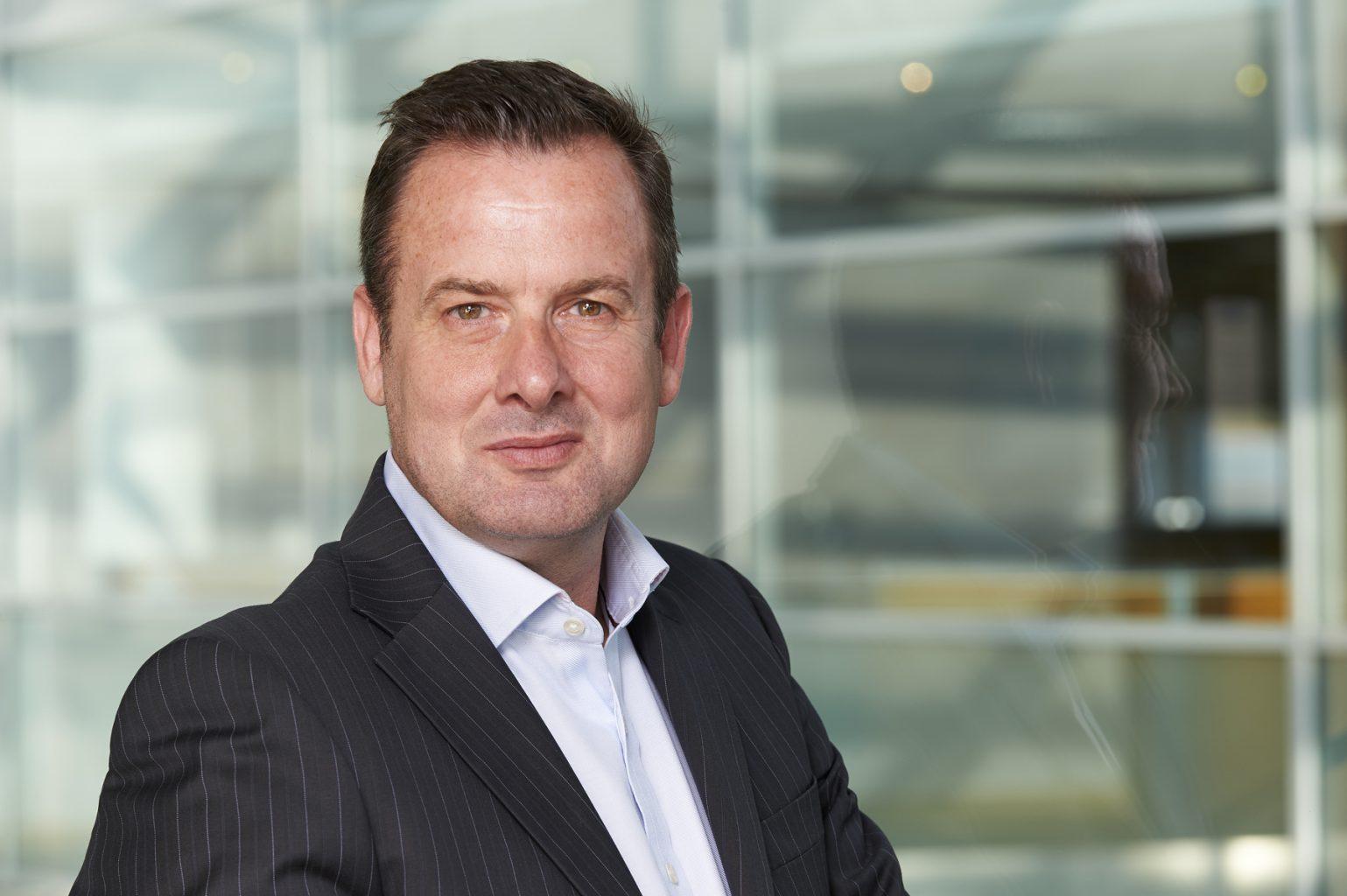Tony Webb corporate headshot for Juniper Networks
