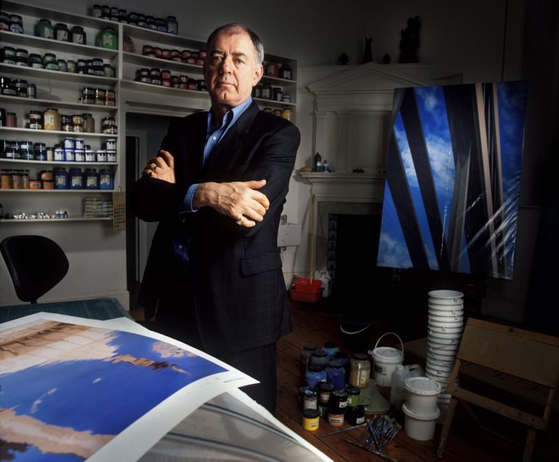Artist, Brendan Neiland, former Keeper of The National Gallery.