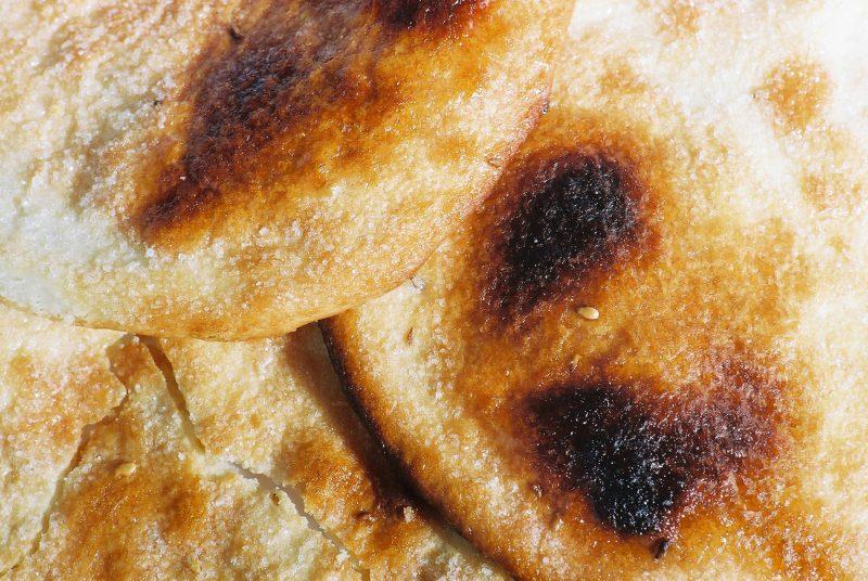 Roti food photography