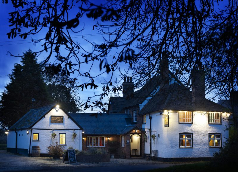 Maltsters Arms, Brakspear Brewery shoot