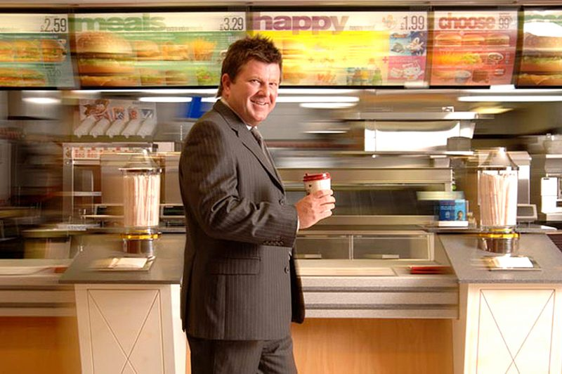 David Fairhurst - Senior VP - McDonald's Restaurants Limited