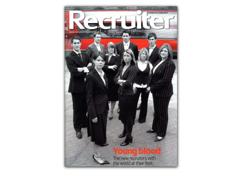 Recruiter Magazine cover shoot for Redactive Publishing.