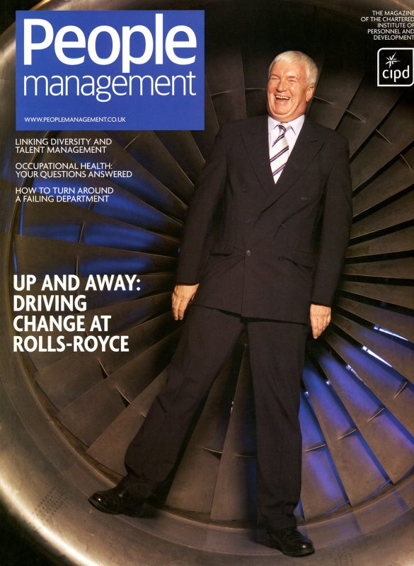 People Management cover shoot for Redactive publishing