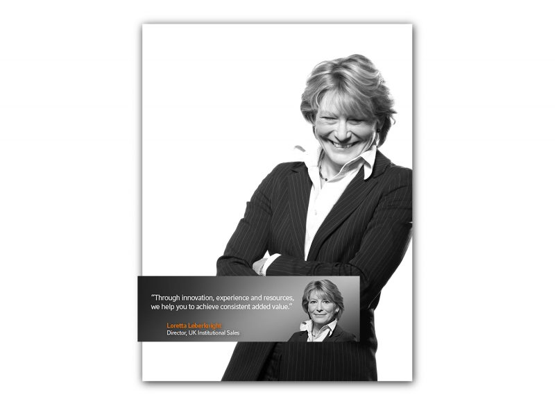 Corporate identity campaign - Russell Investments