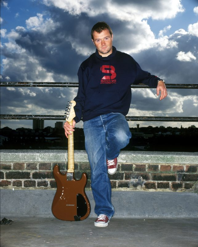 Mark Chapman, guitarist with 'A'