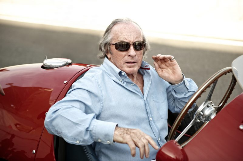 Racing legend Sir Jackie Stewart OBE